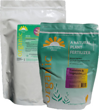 Organically Done Tomato & Vegetables 4-5-4 All Natural Plant Fertilizer 4 lbs