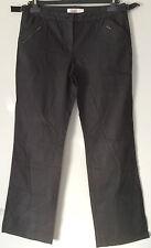 Pantalon droit coton enduit Comptoir des Cotonniers neuf 40