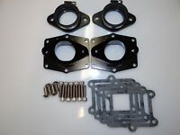 "Chariot Banshee BLACK Cheetah Billet Intakes ,36-41 carbs ""ONLY PV Cheetah"""