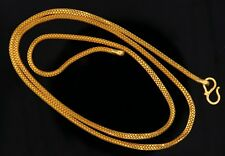 22 K YELLOW GOLD AUTHENTIC CHAIN  SNAKE CHAIN LINK CHAIN GIFTING IDEAS
