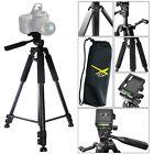 """Lightweight Aluminum Camera Tripod For DSLR SLR Digital Camera - 57"""" - Black"""