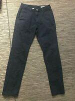 Bonobos Men's Slim Fit Chino Pants 29 x 32 Actual 28 x 32 Blue Cotton/Spandex