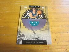 Kirk Haston 2001-02 Hoops Hot Prospects #96 #'d 0270/1000 ROOKIE Relic Hornets