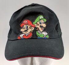 7eaeb0899d0 Nintendo Super Mario Brothers Luigi Hat Child Baseball OSFM Black 2012  Cotton