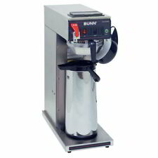 Bunn Cwtf15 Aps Airpot Coffee Brewer Stainless Steel Funnel 120v 230010017