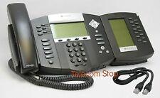 Polycom Soundpoint IP650 IP Phone Telephone & BEM Module - Inc VAT & Warranty
