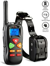 Dog Training Collar With Remote Waterproof Electric Pet Shock Collar Waterproof