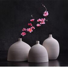 Ceramic Vase Modern Elegant Decorative Flower Vase for Home Cafe Table Decor