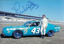 Richard Petty SIGNED 12x8 , Ford Torino Cobra , Daytona 500 Portrait 1969