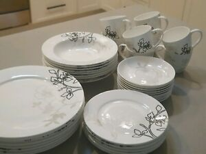 Maxwell and Williams Dinner Sets - 2 X 20 Pieces