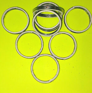 45mm OD, 38mm ID ALLOY AND FIBRE EXHAUST GASKETS SEAL HEADER GASKET RING   A45