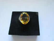 NEU: Toller Ring  Harry Ivens 585 Gold (14 ct.) mit Gold-Beryll (10 ct.) Gr. 20