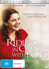 Riding in Cars with Boys (Special Edition) DVD [New/Sealed] Drew Barrymore