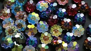 Swarovski  #3700 MARGARITA FLOWER Beads 8mm, Many Special Effect Colors!