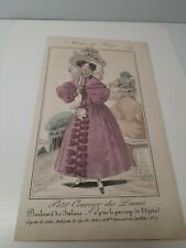 Modes De Paris 675 Petit Courrier Des Dames Paper Fashion Advertisement Vintage