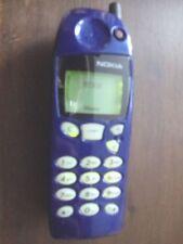 Bleu Métallique Nokia 5110 Téléphone Mobile Débloqué Charmant Rétro Téléphone