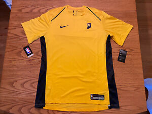 NIKE INDIANA PACERS NBA CITY EDITION PERFORMANCE SHOOTING SHIRT LARGE