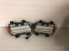 2018 Jeep Wrangler Fender Park Turn LED Lamp Light Set Left / Right OE