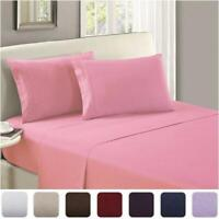 Poly Cotton Fitted Sheet Flat Sheet Single Double King S King