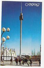 Expo 67 Montreal Canada Spirale at La Ronde Vintage Postcard