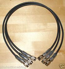 Set di 3 4 PIN Hirose Cavi di alimentazione dispositivi video Pix 240i HDMI Registratore Sony F55