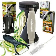 Spiral Slicer Vegetable Spiralizer Zucchini Spaghetti Pasta Noodle Maker Cutter