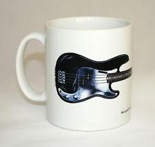 Guitar Mug. Phil Lynott's Fender P Bass illustration.