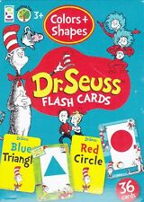 Cards Learning Dr Seuss Colors And Shapes Educational Game Flash Deck