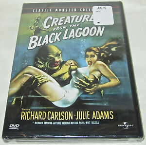 CREATURE FROM BLACK LAGOON NEW DVD Classic Monster Collection Julie Adams Movie