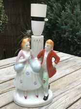 VINTAGE CERAMIC REGENCY STYLE FIGURINE LAMP