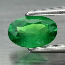 0.37ct 5.5x3.6mm Oval Natural Shocking Green Tsavorite Garnet, Tanzania Video #2