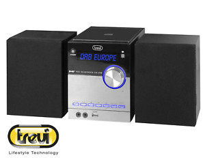 Trevi HCX 10d8 DAB Stereo Hi-Fi System With DAB Bluetooth MP3 CD USB Aux-In