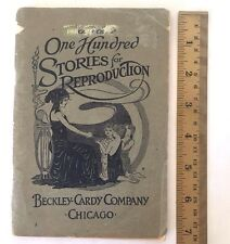 1916 One Hundred Stories Reproduction Kate Walker Grove Beckley Cardy Book