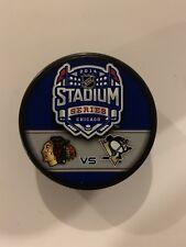 2014 Stadium Series Puck Penguins and Blackhawks