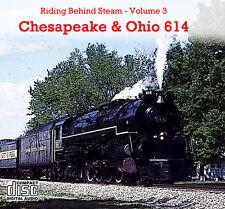 Train Sound CD: Chesapeake & Ohio 614