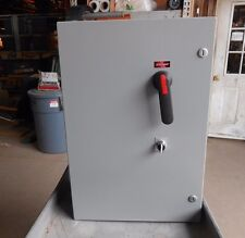 EXCO CUSTOM ABB 125 HP SOFT START 250 AMP BREAKER COMBO Reduced Voltage Outdoor