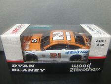 Ryan Blaney 2017 Omnicraft #21 Wood Brothers 1/64 Nascar Monster Energy Cup