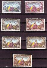 Ecuador   Scott #366-72   Unused