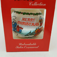The Smurf Collection No. 1 Teacher Satin Christmas Ornament