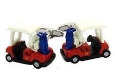 Golf Manschettenknöpfe farbig Golf Caddy minimale Fehler 2. Wahl 1T caddy