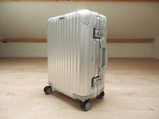 Rimowa Topas CABIN MULTIWHEEL Carry-On 34L Aluminium NEW 92453004