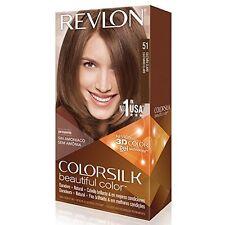 6 Pack Revlon ColorSilk Beautiful Permanent Hair Color (51) Light Brown