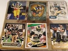 Los Angeles / St Louis Rams Legends 16 Card Lot NFL Football Cards