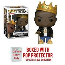 """Pop Rock Music - Notorious B.I.G with Crown Vinyl w/Protector Case """"Mint"""""""