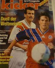 Kicker 88/1994 , Borussia Dortmund , Europacup