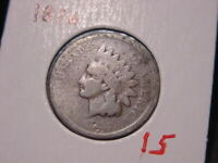 1876 INDIAN HEAD CENT BETTER DATE COIN NICE COMBINED SHIPPING
