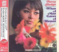 Percy Sledge When a Man Loves a Woman CD 2014 & Japanese OBI Strip