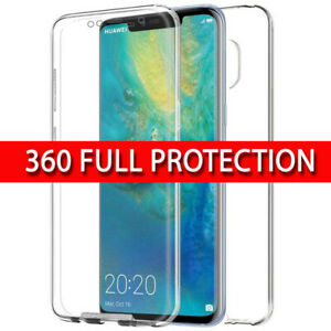 Case for Huawei MATE 20 Pro 360 Shockproof Protective Silicone TPU Gel Cover