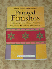 Better Homes and Gardens Workbook ~ PAINTED FINISHES ~ Sponging Stencilling
