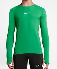 Nike Aeroreact Long Sleeve Running Men's Green 683910-342 SIZE L